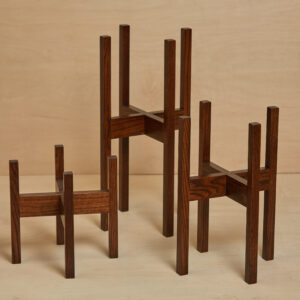 Wood Planter Stands