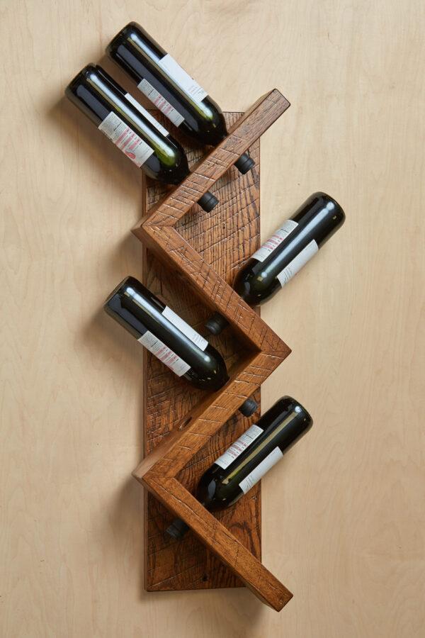 Zig Zag Wine Racks