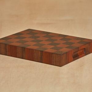 Custom Wood Checkerboard Cutting Board